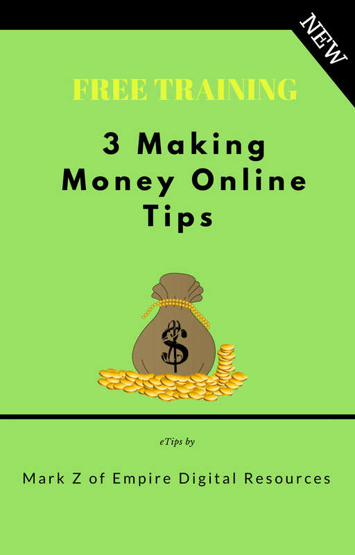 Five Pack Deal : Affiliate Marketing Beginners - 3 Making Money Online Tips